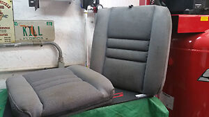 1994 95 96 97 98 Mustang Rear Seat Back Upper Upholsterey Cloth Gray Grey Oem