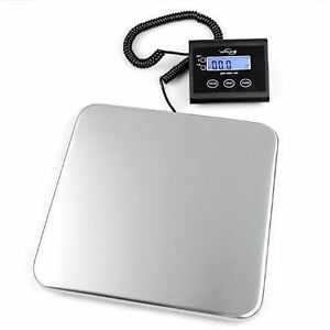 Digital Shipping Scale Weight 330 Lb Postal Mail Small Business Large Freight Ac