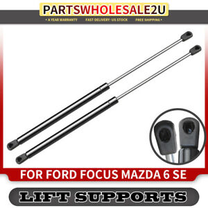 2x Tailgate Lift Supports Shock Strut For Ford Focus 00 07 Mazda 6 Station Wagon
