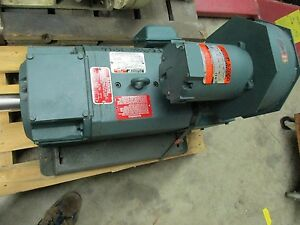 New Reliance Electric Dc Motor Mc2115atz 30hp Baldor 1750rpm Lc 2115atz See Note