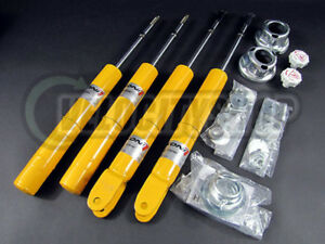 Koni Yellow Adjustable Sport Shocks 92 95 Civic Del Sol 94 01 Integra Gsr Ls