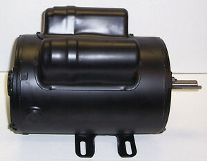 160 0266 Coleman Powermate Sanborn Air Compressor Motor 240vt 5hp 56fr One Phase