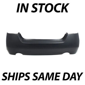 New Primered Rear Bumper Cover For 2007 2012 Nissan Altima Sedan Hybrid