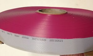 Flat Cable 20 Pin 20 Wires Idc Ribbon 2651 Roll 250 Ft Long 25mm Wide