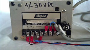 Acopian Dual Output Power Supply 30gt40d