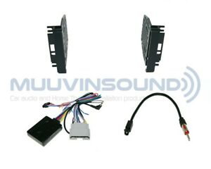 Radio Stereo Installation Mounting Dash Kit Combo Dd Interface Antenna Chr4