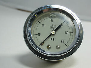 Pressure Gauge Tcu 60 Psi 1 4 Cbm U Clamp