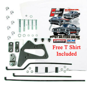 Hurst 3738615 Street Super Shifter Install Kit Ford Top Loader T