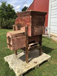 Antique John Deere Wooden Grain Cleaner For Gristmill Circa 1900 s Jd Hit N Miss