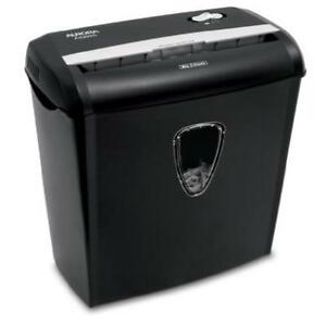 Aurora As890c 8 sheet Cross cut Paper credit Card Shredder With Basket Crosscut