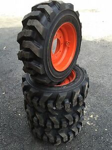 10 16 5 Carlisle Ultra Guard Foam Filled Skid Steer Tires wheels rim For Bobcat