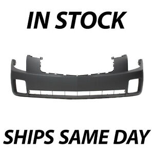 New Primered Front Bumper Cover Fascia For 2003 2007 Cadillac Cts Sedan 03 07