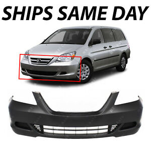 New Primered Front Bumper Cover Fascia For 2005 2006 2007 Honda Odyssey Van
