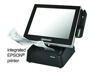 Pioneer Pos Stealthtouch M7 All In One Pos Computer W blt In Printer