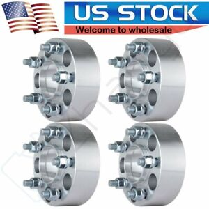 4pcs 2 Thick Hubcentric Wheel Spacers 5x4 5 For 2007 2013 Lincoln Mkx