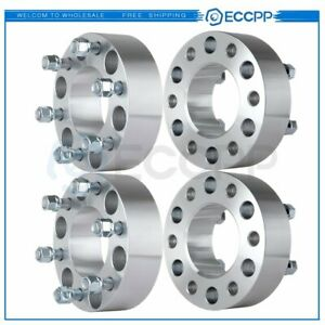 Set Of 4 Wheel Spacers Adapter 2 6x135 14x2 Studs Fits Ford Expedition F 150