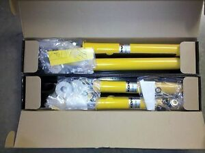 Koni Yellow Sport 96 00 Civic Shocks Front Rear Set