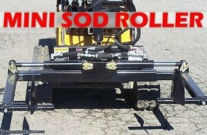 Mini Sod Roller handler For Mini Skid Steer compact Tool Carrier fits Toro Dingo