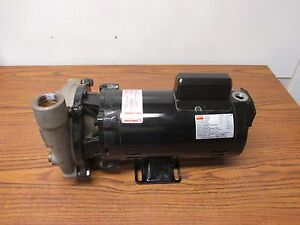 Dayton 2zxk8 Centrifugal Pump 1 Hp 1ph 115 230v