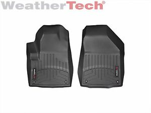 Weathertech Floorliner Car Mats For Jeep Cherokee 2016 2019 1st Row Black