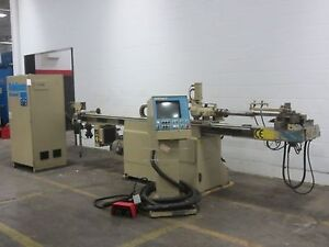 Addison Db32 1 1 4 Cnc Horizontal Tube Bender 3 axis Cnc Control New 1996