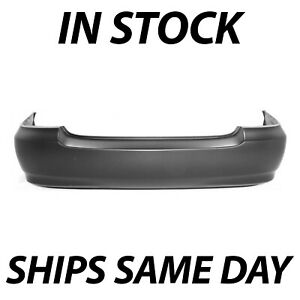 New Primered Rear Bumper Cover Replacement For 2003 2008 Toyota Corolla 03 08