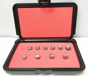 Rivet Squeezer Set 10 Pcs An430 Round Head Squeezer Sets W flush Sets