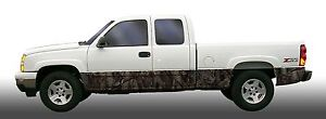 Oak Tree Camo Camouflage Rocker Panel Graphic Decal Wrap Kit Truck Suv
