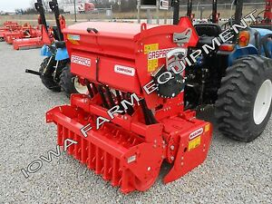 Power Harrow packer Roller Drill seeder Maschio Dl1300 52 Till Seed Combo