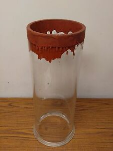 Thick Glass Cylinder 6 Inside Diameter 18 Long