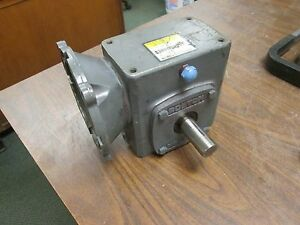 Boston Gear Reducer F721 10 b5 j Ratio 10 1 2 34 Hp In 789 Lb in Torque Out