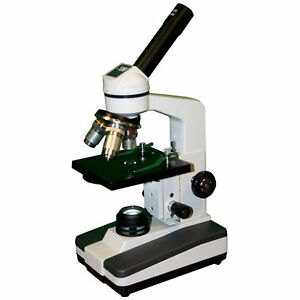 Lw Scientific Edm m03d daf1 Student research Microscope Florescent 3 Objective