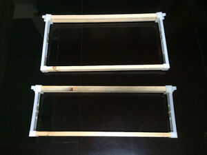 Bee Frames Hybrid Wood plastic Deep Or Super Mix match 100 Total Made In U s a
