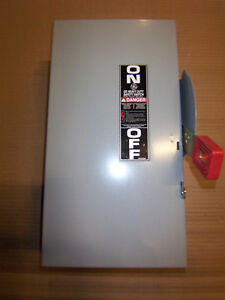 New Ge Thn2262dc 60 Amp 600v Non Fusible Safety Switch Disconnect Nib