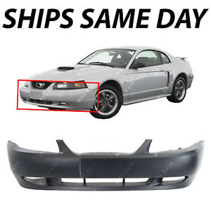 New Primered Front Bumper Cover Fascia For 1999 2004 Ford Mustang Gt 99 04