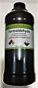 Formaldehyde Stabilized Analytical Reagent acs 500ml