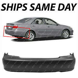 New Primered Rear Bumper Cover Replacement For 2002 2006 Toyota Camry Usa 02 06