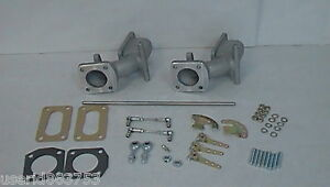 Triumph Tr6 Manifold Set Linkage 32 36 Weber Carburetors