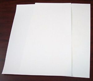 100p 11x17 Parchment Paper Silicone Coated For Heat Press Opaque Transfer reuse