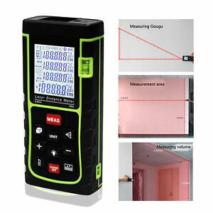 40m 131ft 1575in Digital Laser Distance Meter Range Finder Measure Diastimeter C