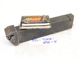 Used Valenite Carbide Insert Turning Tool Sd tmr 86 4 With 4pcs Carbide Insert