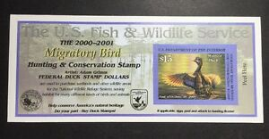 #RW67A 2000 2001 US Federal Duck Stamp Post Office FRESH