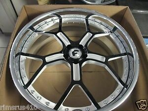24 Forgiato Gtr Brushed black Forged Wheels Jaguar Xj Xjl Super Charged 5x108
