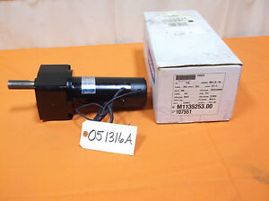 New Leeson Electric Motor With Gear Reduction Gearmotor Dc 60 Volt 1 5 Hp 27rpm