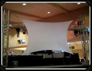 Projection Screen Dj Screen Movie Screen 180 X 84 15 X 7 Front rear
