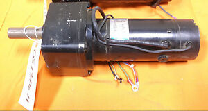 Leeson Electric Motor Gear Reduction Gearmotor Dc 60 Volt 1 5 Hp 27 Rpm