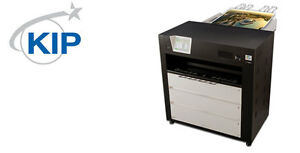 Kip C7800 Color Wide Format Printer 3 Rolls