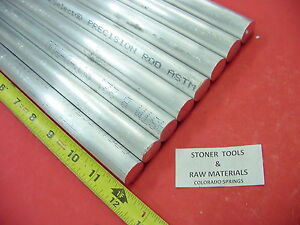 8 Pieces 3 4 Aluminum 6061 Round Rod 12 Long T6511 Solid Lathe Bar Stock