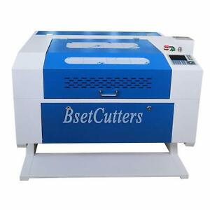 Reci 100w Co2 Usb Laser Cutting Engraving Machine Motorize Up And Down X700 New
