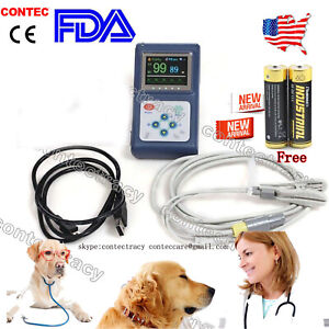 Cms60d Vet Veterinary Use Fingertip Pulse Oximeter spo2 Blood Oxygen Monitor usa